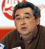 El secretario de Acción Sindical de UGT, Toni Ferrer