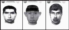 Retrato de tres de los autores de la muerte de 52 personas la madrugada del viernes en Monterrey