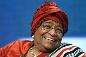 La presidenta de Liberia, Ellen Johnson-Sirleaf, en una imagen de archivo