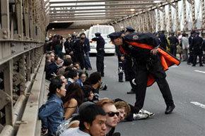 Los 'Indignados' de Nueva York...
