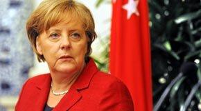La Canciller alemana Angela Merkel (imagen de archivo)