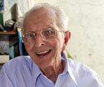 Un anciano centenario, en algún lugar de EE.UU.