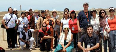 Periodistas de VISION asistentes a FITPERU- Trujillo 2011 (Foto: Patricio Miller, info@revistacuenca.com)