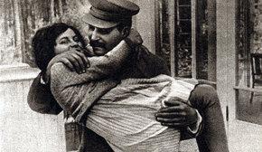 Svetlana con su padre