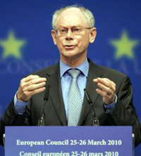 Presidente del Consejo Europeo, Herman Van Rompuy