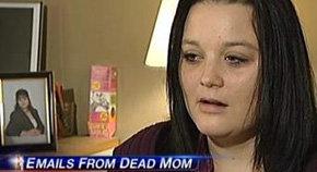 Una madre envía correos 'spam' a su familia dos años después de morir