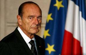 Ex presidente Jacques Chirac en una imagen de archivo