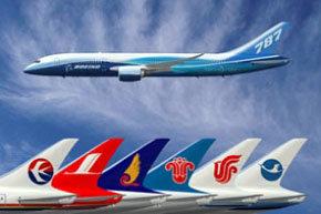 Las aerolíneas chinas en contra de pagar por sus emisiones de CO2