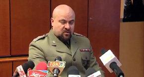 El Coronel Mikolaj Przybyl sobrevivió al disparo