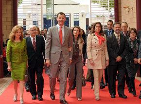 Los Príncipes de Asturias inauguran la XXXII edición de Fitur con el ministro de Industria, Energía y Turismo