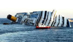 Varios turistas mueren y decenas resultan heridos al encallar un crucero en una isla italiana