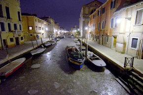La imagen es del distrito de Cannaregio.