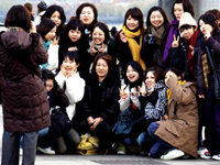 Los chinos, unos turistas de lujo
