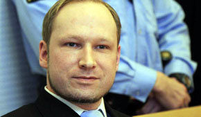 El ultraderechista noruego Anders Behring Breivik