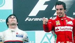 Alonso se coloca con esta victoria líder del Mundial.