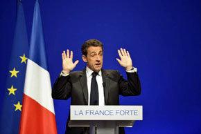 Nicolás Sarkozy, presidente de Francia