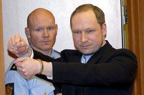 El ultraderechista noruego Anders Breivik