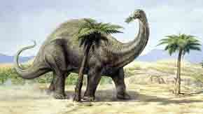 Dinosaur gases 'warmed the Earth'