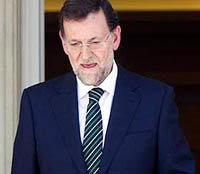 Mariano Rajoy presidene del Gobierno español