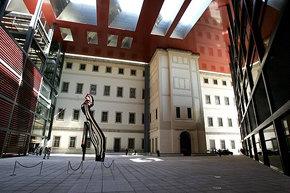 Lamentable Cuadro de Millares en la nueva instalación del Museo Reina Sofía