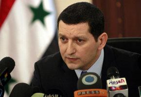 El portavoz del régimen sirio, Jihad Makdissi
