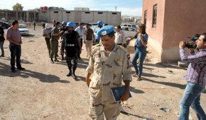 Observadores de la ONU inspeccionan Duma