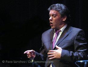 Manuel de Paula, cante flamenco en el Corral de la Morería