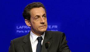 Ex presidente de Francia Nicolás Sarkozy
