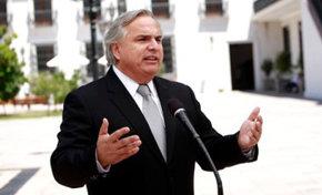 El ministro secretario general de gobierno, Andrés Chadwick
