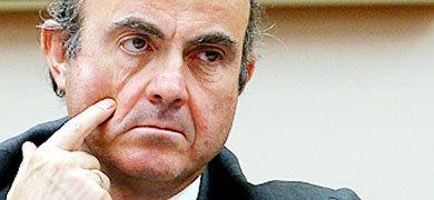 El ministro de Econom�a, Luis de Guindos