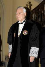 Carlos Dívar, actual presidente del CGPJ