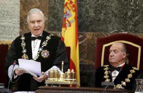 El rey Juan Carlos no asistirá al bicentenario del Supremo