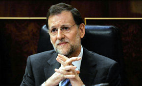 Mariano Rajoy, presidente del Gobierno espa�ol