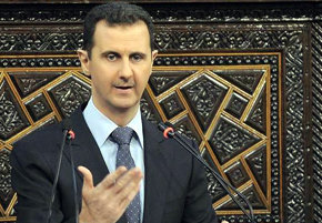 El presidente sirio Bachar al Asad