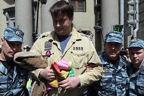 Nikol�i Alex�yev, l�der de los homosexuales rusos