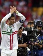 EURO2012: Ronaldo se descargó tras el partido
