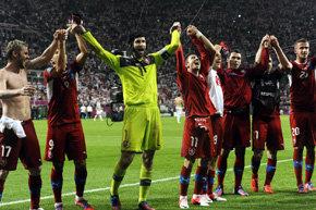 EURO2012: República Checa y Grecia los clasificados del grupo A