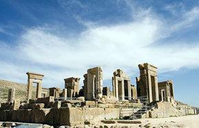 Ruinas arqueológics en Irán