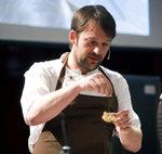 El jefe de cocina del restaurante Noma de Copenhage (Dinamarca), Ren� Redzepi,