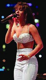 Selena en una de sus actuaciones�.