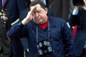 El presidente de Venezuela, Hugo Ch�vez