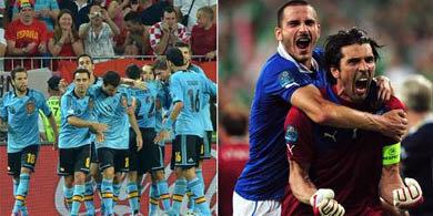 EURO2012: Espa�a en lo m�s alto del grupo C