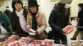 Detenido un carnicero por estafar a sus clientes con carne de Fukushima
