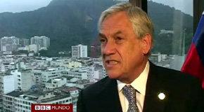 Sebasti�n Pi�era, presidente de Chile