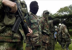 Las FARC niegan la autor�a del comunicado de su apoyo al marco para la paz