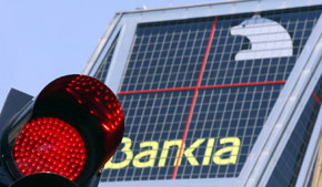 El grupo de Bankia tiene un valor negativo de 13.635 millones