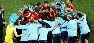 Espa�a jugar� la final de la Eurocopa tras derrotar a Portugal en la tanda de penaltis