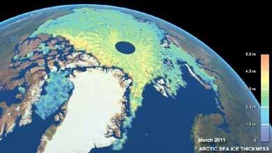 El hielo ártico se derrite y deja un futuro 'caliente'