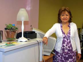 Sonia Castillo, es la directora del reci�n creado Centro de Formaci�n Profesional,