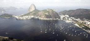 La bahía de Guanabara, en Río de Janeiro